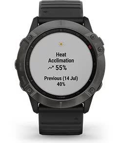 fenix 6X Pro Solar. Спортивні показники