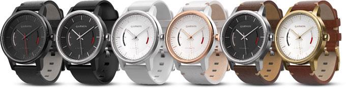 Серія класичних годинників з вбудованим трекером активності Garmin vivomove