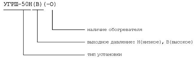 Установка газорегуляторная шкафная УГРШ-50Н(В)(-О)