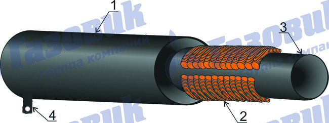 Погружные нагреватели на основе полых стеклопластиковых труб