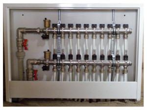 Блок устройства для отопления