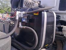 Монтаж гидравлики и установка маслобака