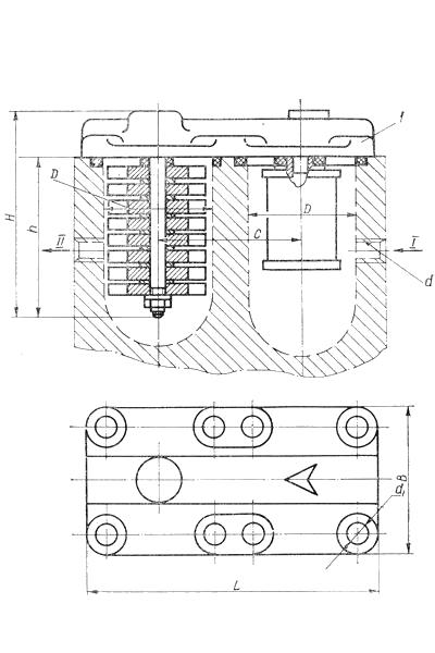 Фильтр встраиваемый типа ФМС-2М