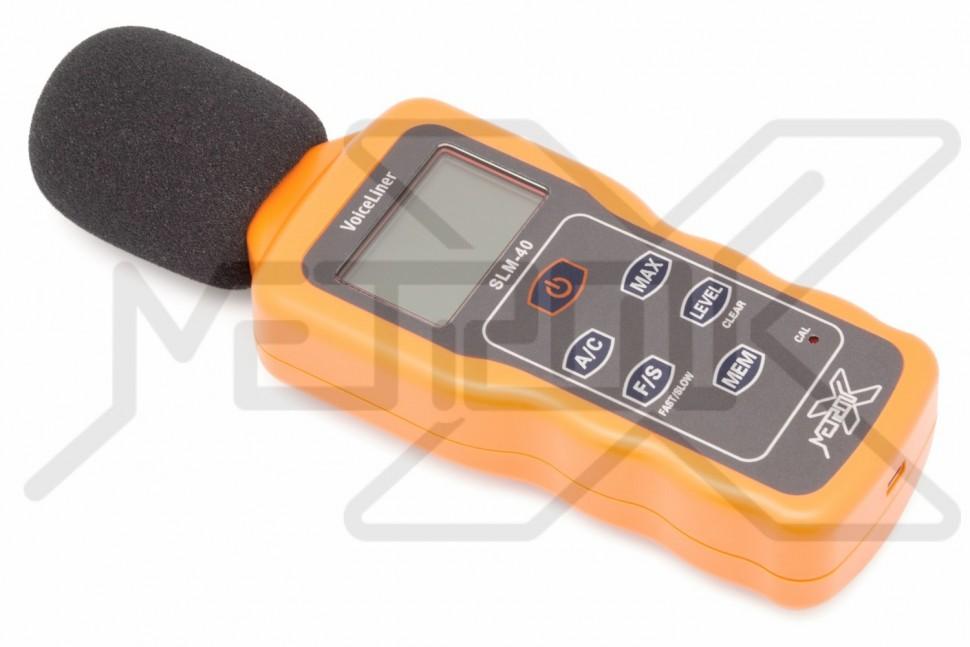 Шумомер с USB интерфейсом VoiceLiner SLM-40 Шумомер с USB интерфейсом VoiceLiner SLM-40