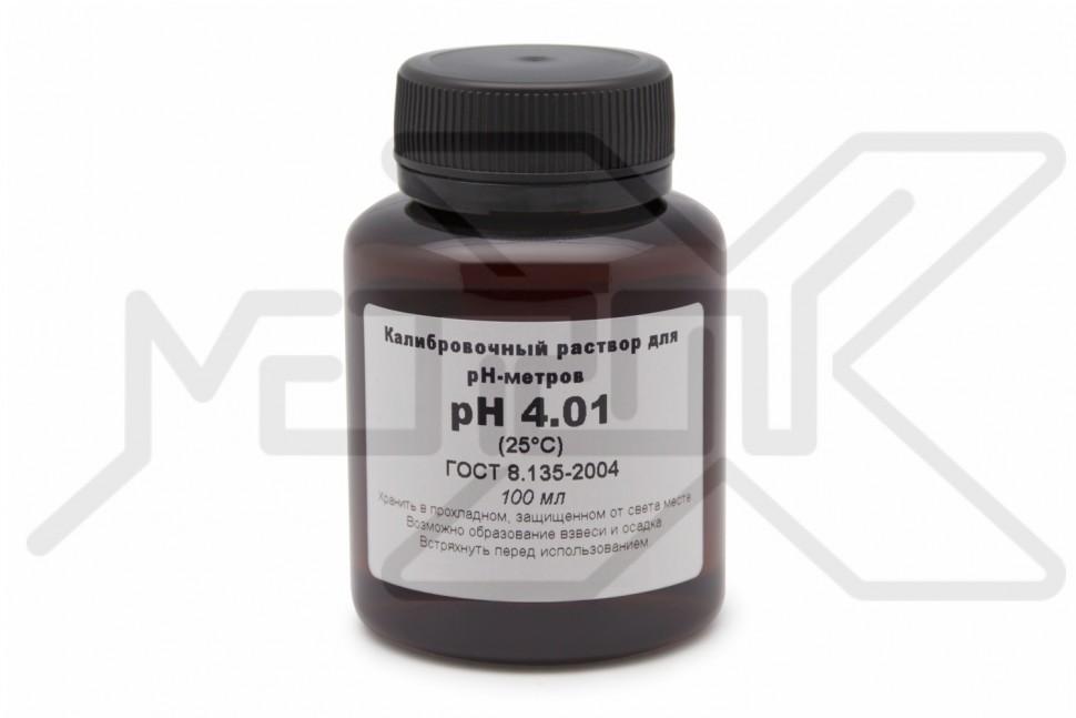 Калибровочный раствор pH 4.01 100 мл Калибровочный раствор для pH метра ph 4.01 100 мл