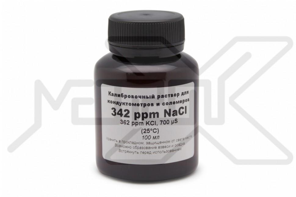 Калибровочный раствор TDS 342 ppm 100 мл Раствор для калибровки TDS/EC метров