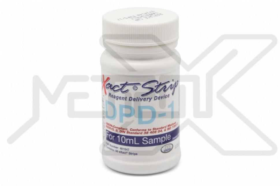 Реагенты для измерения свободного хлора DPD-1 (на 50 измерений) Реагенты DPD
