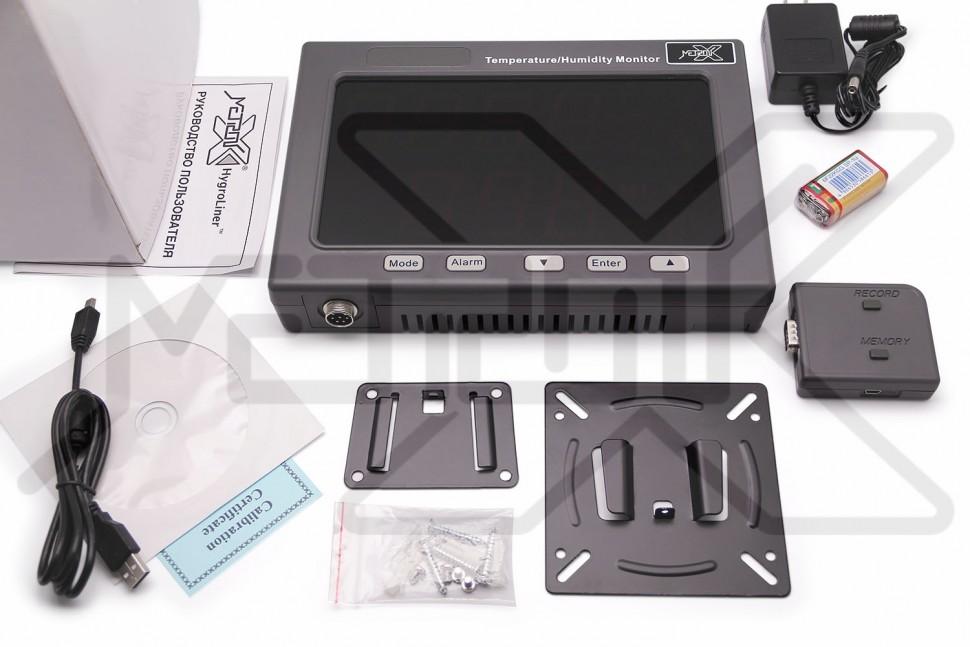 Регистратор влажности и температуры воздуха HygroLiner HTL-50 HygroLiner HTL-50 Регистратор влажности и температуры воздуха
