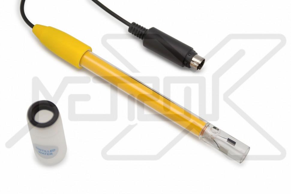 Внешний стеклянный EC/TDS электрод WaterLiner EECG-21 Метроникс Электрод фото, схема, параметры, таблица, паспорт, инструкция, характеристики, завод изготовитель, производитель