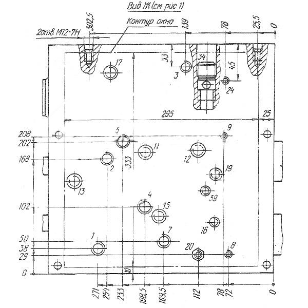 Рис. 3. Гидропанели подач УН7416-02, УН7417-02