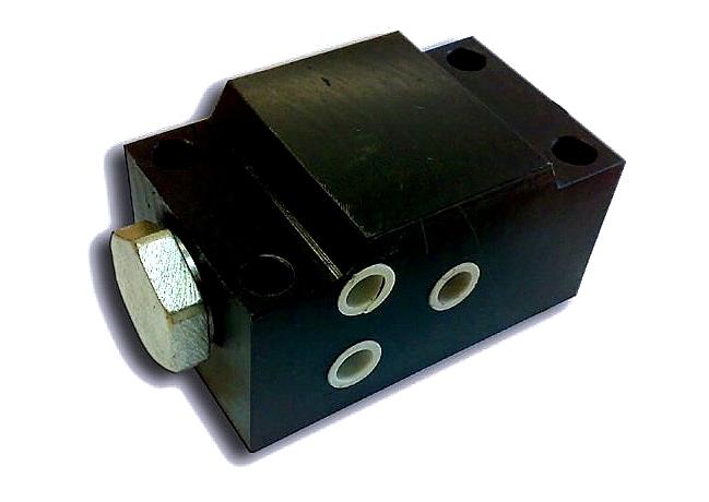 Гидрозамок КС-45717.31.400 (гидравлический замок автокрана) фото схема
