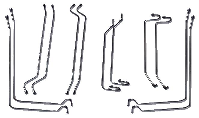 Комплект трубопроводов КС- фото схема