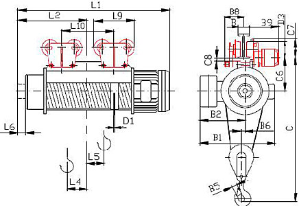 Схема тельфера