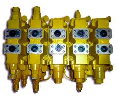 Гидрораспределитель ГР-520 экскаватора ЕК-14, ЕК-12 ГР 520-314.02.520.00