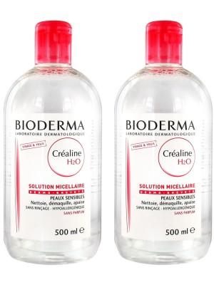 Картинки по запросу Мицеллярный лосьон для снятия макияжа BIODERMA (БиоДерма) Н2О 500 мл