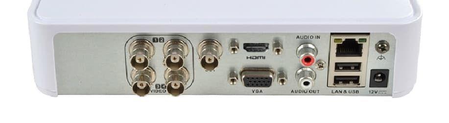 DH-7104HQHI-K1- HD-TVI видеорегистратор для камер 3 Мп