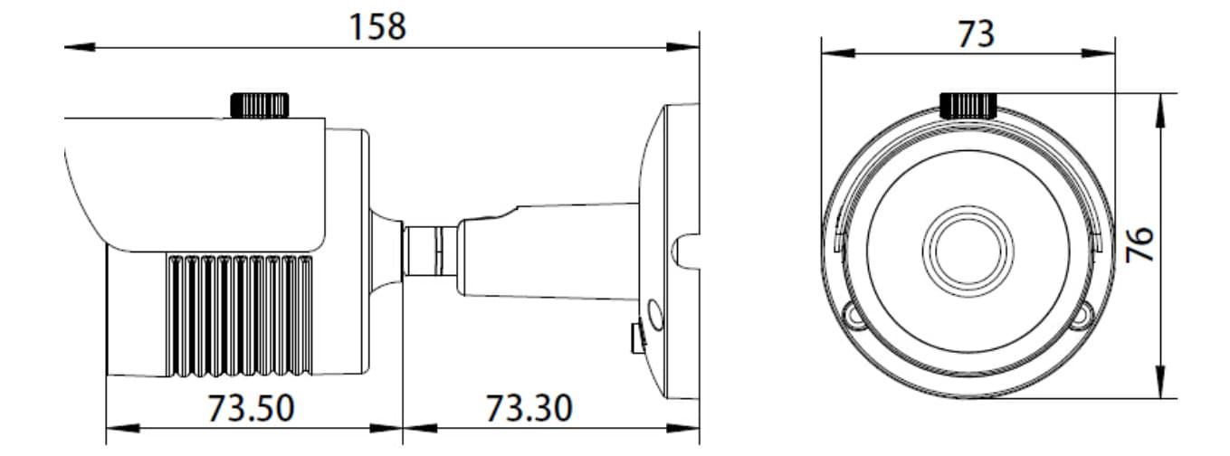 Камера видеонаблюдения на матрице Sony