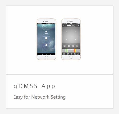 Просмотр на мобилке через gDMSS