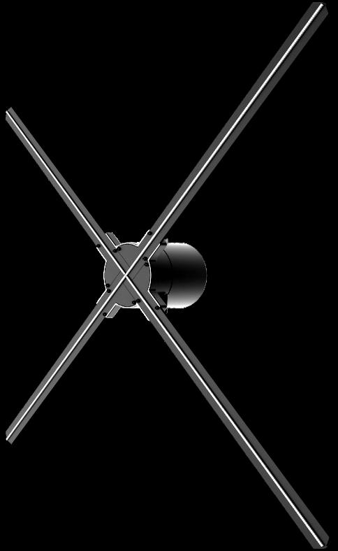 Голографическое устройство (вентилятор)