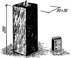 Рис. 2. Пакет из-под молока, пригодный для отливки свечей прямоугольной формы