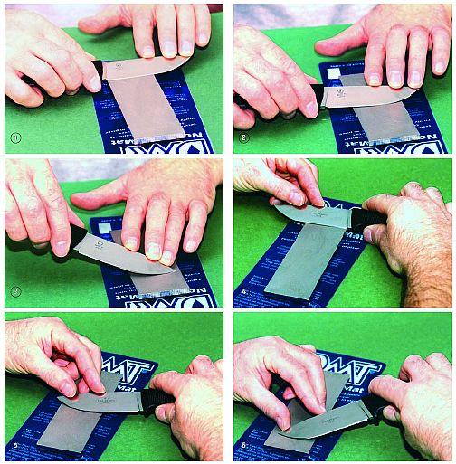 Техника заточки ножа
