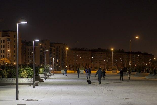 Новое освещение в Мадриде