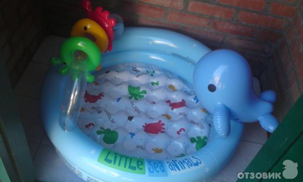 Детский надувной бассейн Intex 57400 фото