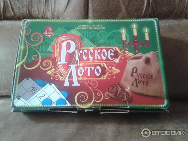 Настольная игра Данко-Тойс Русское лото фото
