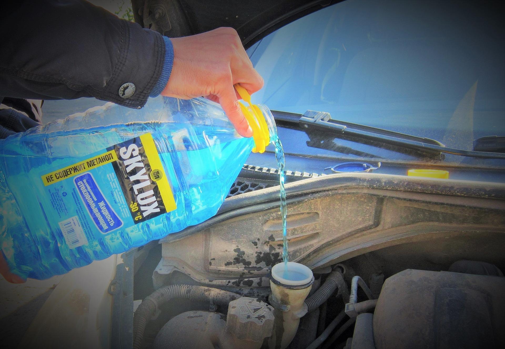 Качественная незамерзающая жидкость для автомобиля