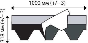 Гибкая черепица IKO: армошилд