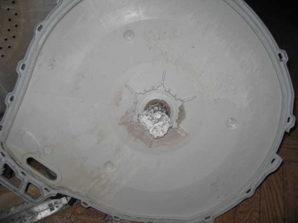 поломка барабана
