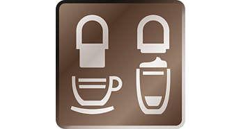 Регулируемый носик сохраняет тепло и подходит для любых чашек