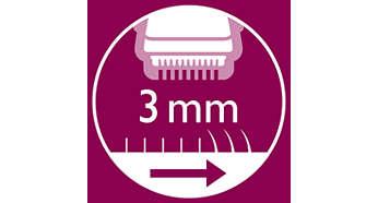 Насадка-гребень для подравнивания волос до длины 3мм.