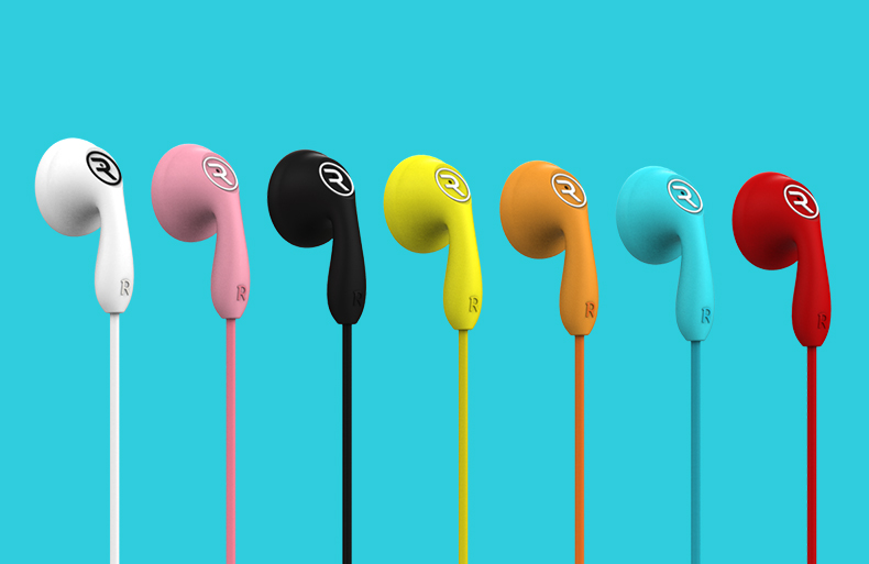 Original REMAX RM-301 Candy Colorful Dynamic Driver HIFI Earphone Headphone