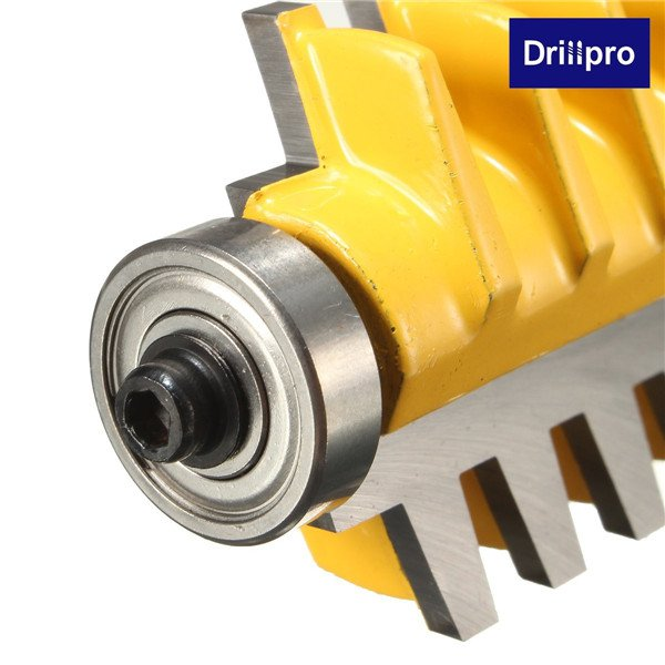 Drillpro 1/4 дюйма Shank Фреза Реверсивный Совместное Cutter