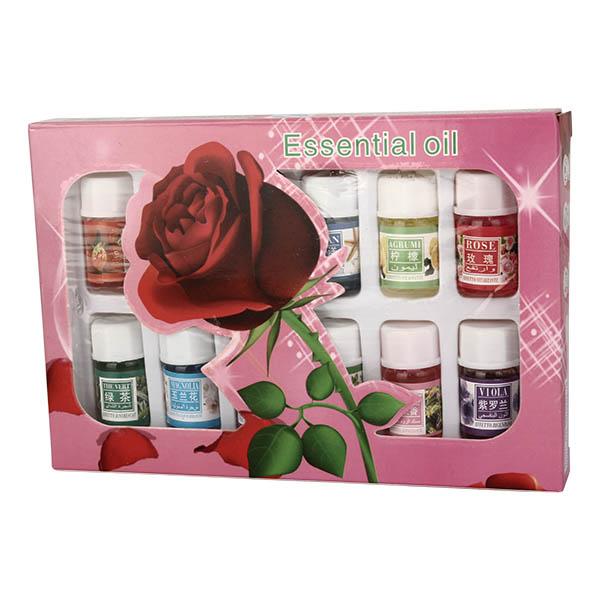 12шт ароматерапии лаванды розы увлажнителя эфирные масла чистый завод водорастворимый аромат набор масла