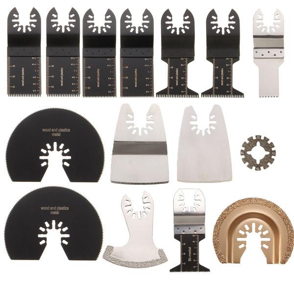 15pcs отрезные диски комплект для Rockwell sonicrafter WorX колебательное MultiTool аксессуар