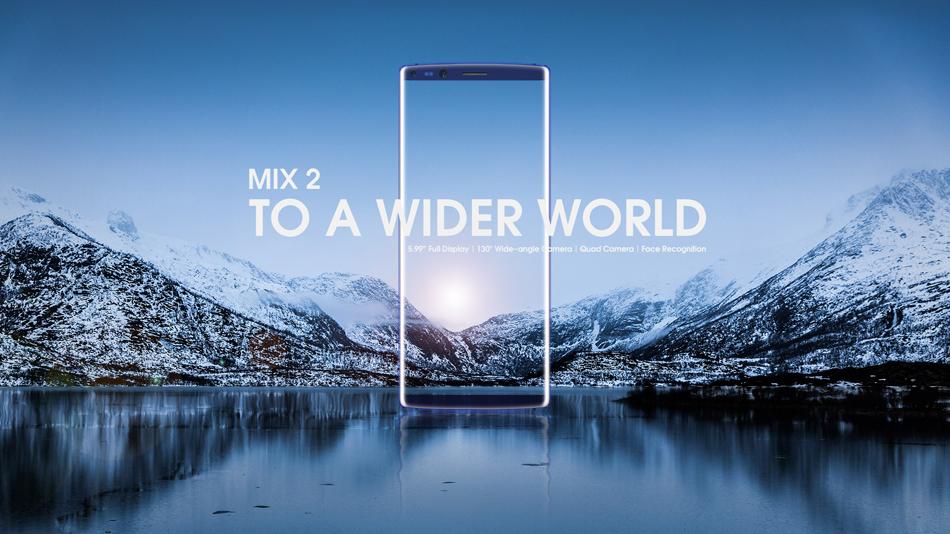 DOOGEE MIX 2 5.99 Inch Признание лица 6GB RAM 64GB ПЗУ Helio P25 Octa-Core 4G Смартфон
