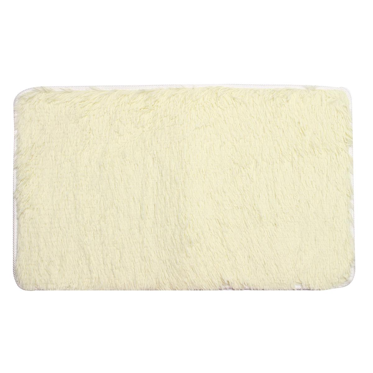 80x50см absrobent лохматый ковер домой Антипробуксовочная коврик коврик для спальни мягкая