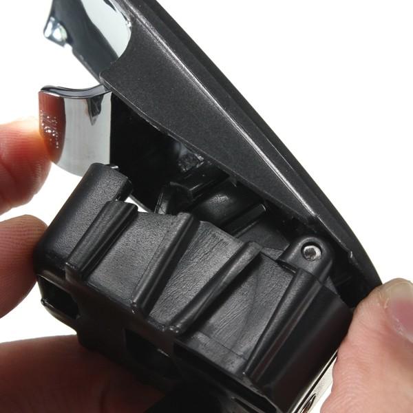 хром бардачок крышка замка ручка с отверстием темно-серый для ауди а4 8е b6 b7