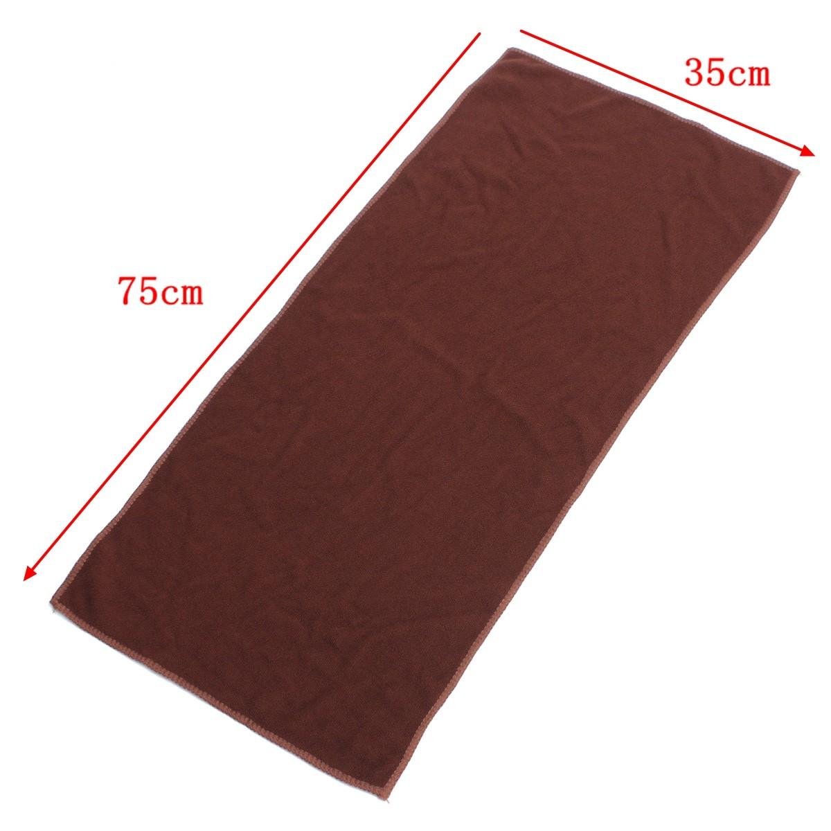 35x75см абсорбент полотенце из микрофибры для путешествий Отдых Туризм тренажерный зал йоги спорта
