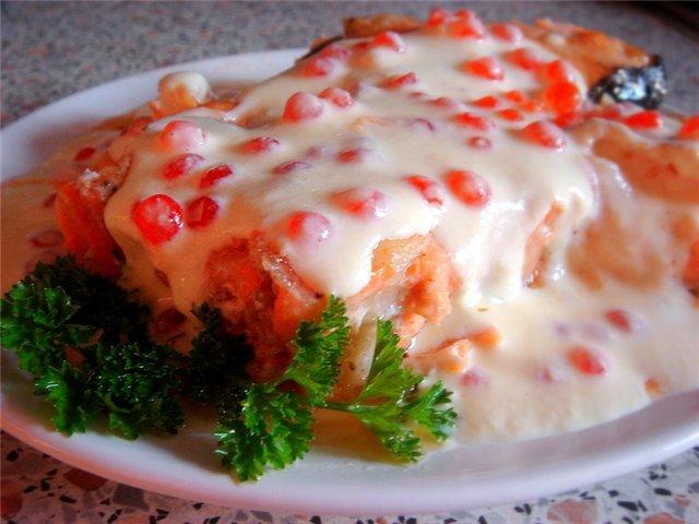 """Рецепт - Семга в сливочном соусе """" Кулинарные рецепты Простые и хорошие кулинарные рецепты с фото"""