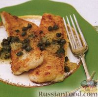 Фото к рецепту: Морской язык по-гренобльски