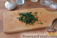 Фото приготовления рецепта: Скумбрия под чесночным соусом (в мультиварке) - шаг №2