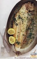 Фото к рецепту: Морской язык «а ля менье»