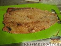 Фото приготовления рецепта: Скумбрия, запеченная в фольге - шаг №3