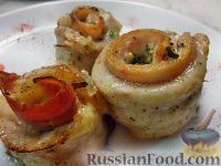 Фото к рецепту: Роллы из морского языка