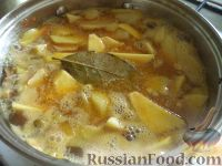 Фото приготовления рецепта: Жаркое из картошки с грибами - шаг №9
