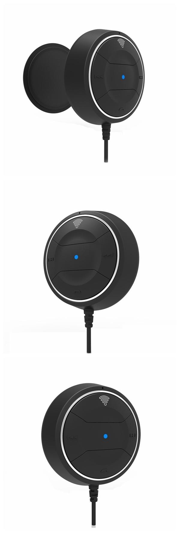 Автомобиль Bluetooth 4.0 NFC автомобильный адаптер комплект портативного приемника громкой связи для Xiaomi iphone смартфон беспроводной разговора
