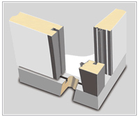 Соединение панелей шип-паз